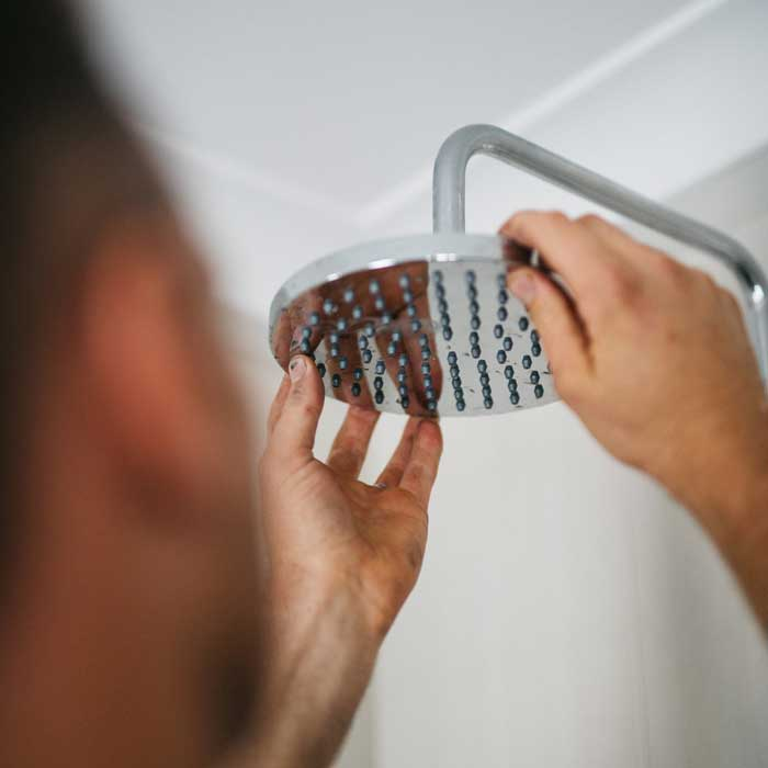 showerhead inspection by thoroughgood plumbing